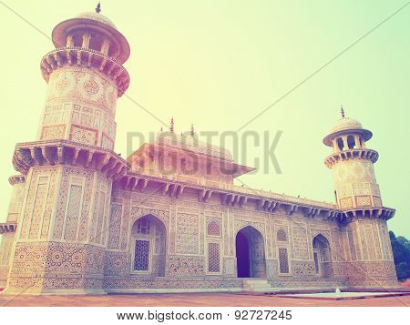 Baby Taj Vintage Image