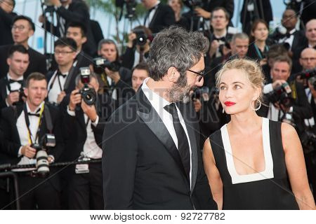 Emmanuelle Beart attends the opening ceremony and premiere of La Tete Haute ( Standing Tall ) during the 68th annual Cannes Film Festival on May 13, 2015 in Cannes, France.
