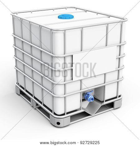 3D Water Tank Cube