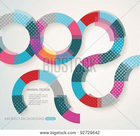 Pattern Of Geometric Shapes. Geometric Background.