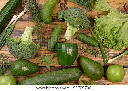 All Green Food