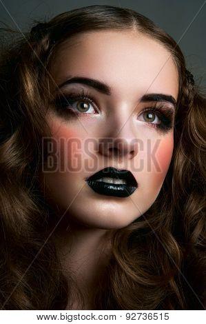 Dreamy Fashion Beauty Girl