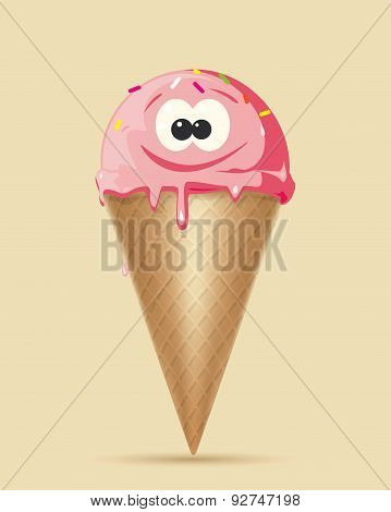 Ice Cream Character Set 1 Cs5
