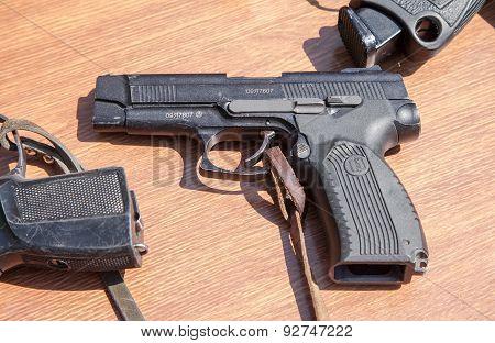 Russian Firearms. Pistol Of Yarygin Pya, Mp-443 Grach