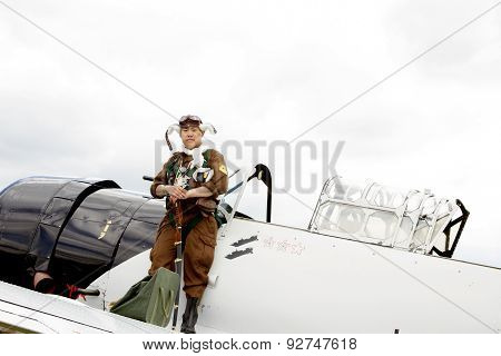 Japanese Fighter Pilot