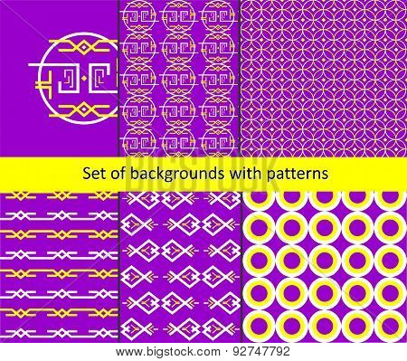 The Pattern-background Set