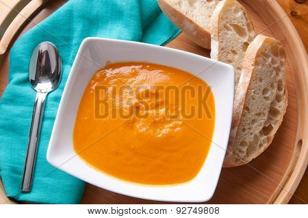 Chickepea And Tomato Soup