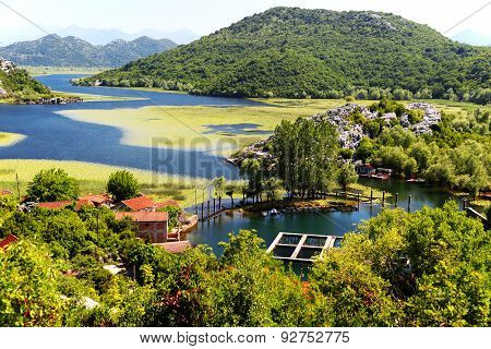 Karuc Village On Lake Skadar, Montenegro