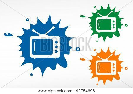 Tv - Color Blob