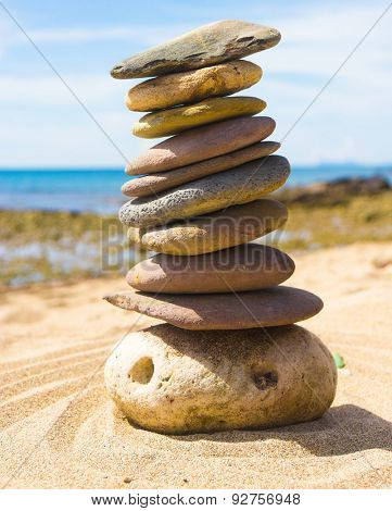 Sustainable Growth Zen Pebbles