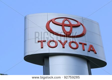 Toyota car maker