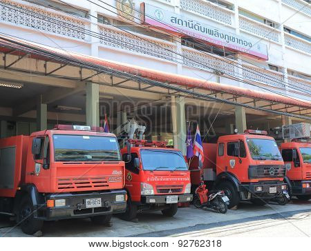 Fire engine Thailand
