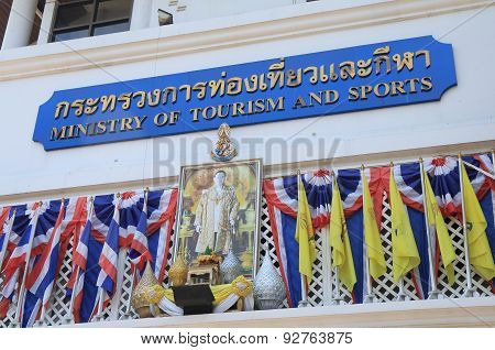 Ministry of Tourism and Sports Bangkok Thailand