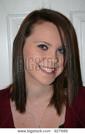 Pretty Brunette Teenager