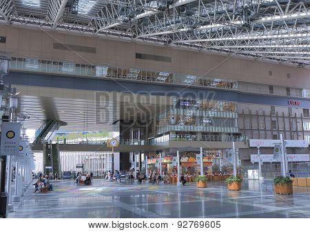 JR Osaka train station Japan