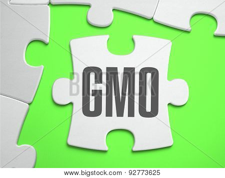 GMO - Jigsaw Puzzle with Missing Pieces.