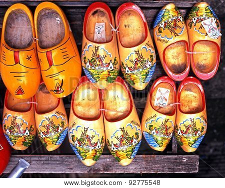 Clogs for sale, Amsterdam.