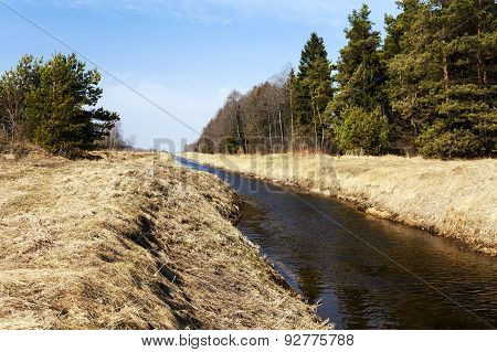 small rural river