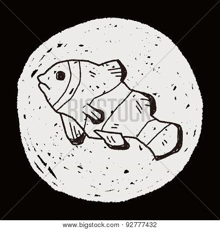 Clownfish Doodle