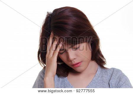Woman Headache