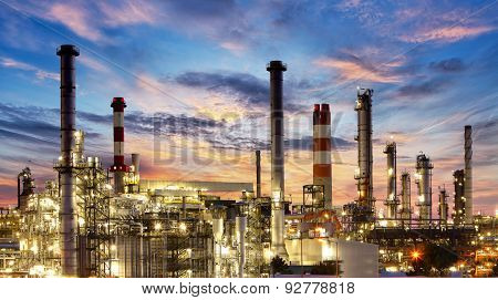 Factory, Industry, Oil Refinery