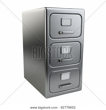Closed Document Cabinet