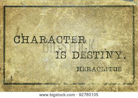 Destiny Heraclitus