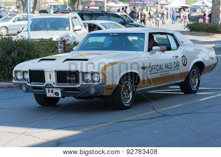 Oldsmobile Car On Display