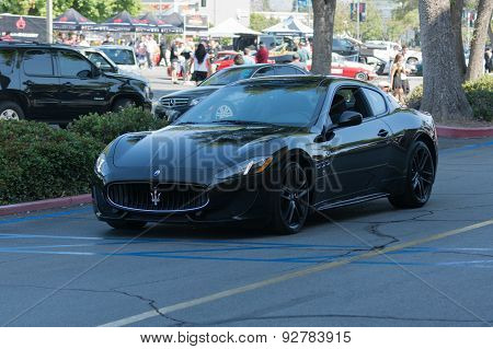 Maserati Granturismo Car On Display