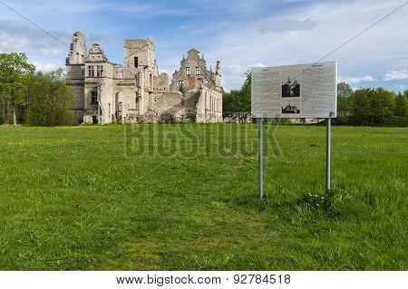The Ruins Of The Ungru Manor, Estonia