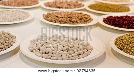 Beans On Plates
