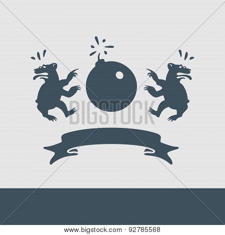 Vector Heraldry Caricature