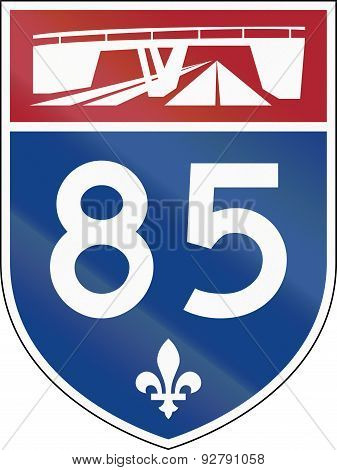 Quebec Highway Shield 85