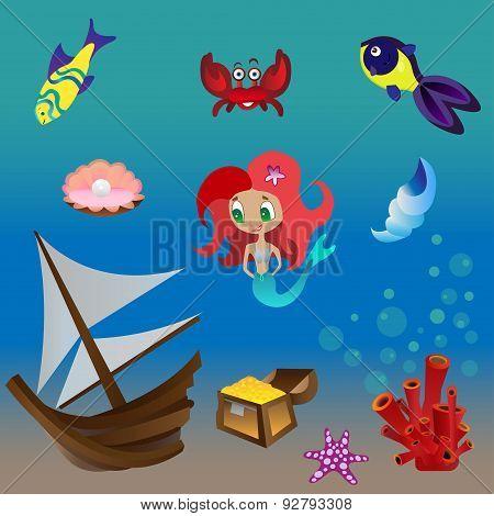Set mermaid