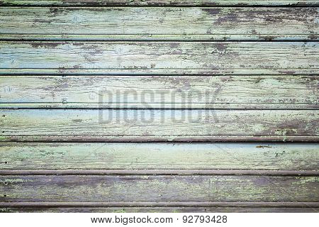 Grungy Wooden Wall, Vintage Photo Texture