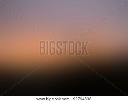 Blurred Mesh Gradient Background Black, Orange And Violet