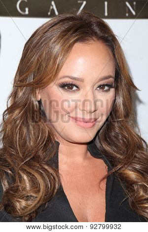 LOS ANGELES - JUN 2:  Leah Remini at the VIVA GLAM Celebrity Issue Launch Hosted by Leah Remini at the Riviera 31 Bar & Lounge on June 2, 2015 in Los Angeles, CA