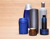 image of cosmetic products  - Mens cosmetics - JPG