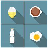 stock photo of scrambled eggs  - Scrambled Egg - JPG