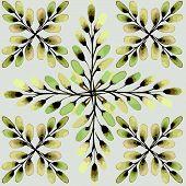 stock photo of yellow buds  - Seamless pattern - JPG