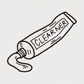 pic of toothpaste  - Toothpaste Doodle - JPG