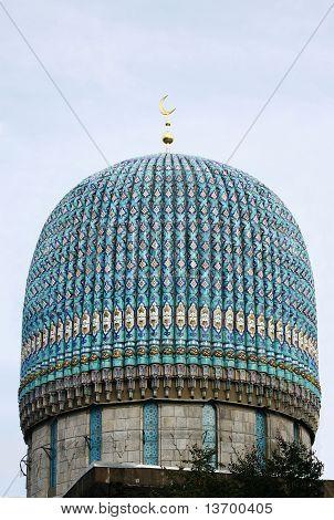 Cúpula de una mezquita