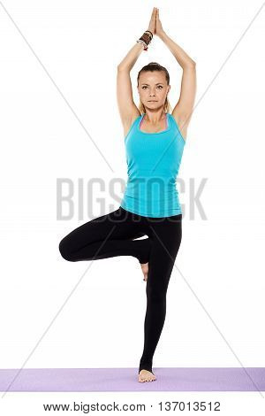Woman Yoga Teacher