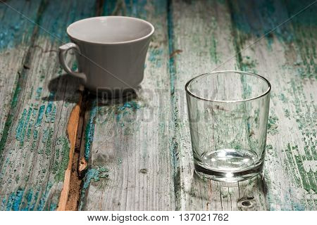 Cup And Glass