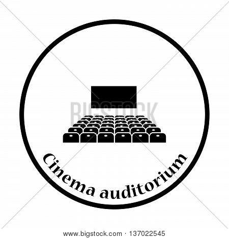Cinema Auditorium Icon