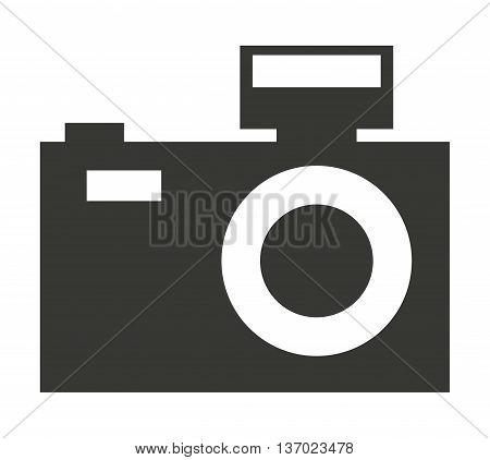 camera photographic    isolated icon design, vector illustration  graphic