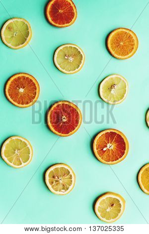 Pulpy Orange Fruit Tangy Concept