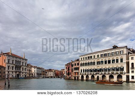 Palazzo Balbi On The Venice's Grand Canal