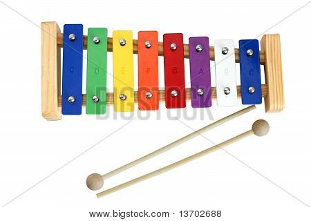 Xylophone Metallophone For Kids with sticks