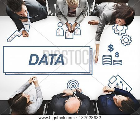 Data Business Facts Information Graphic Concept